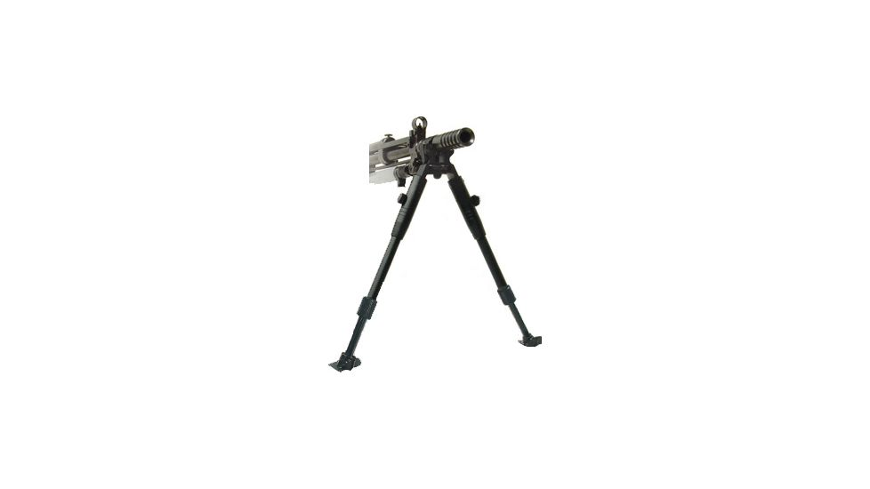 Leapers Low-Profile Dragon Claw Clamp-on Barrel Bipod-Steel Stands TL-BP08ST