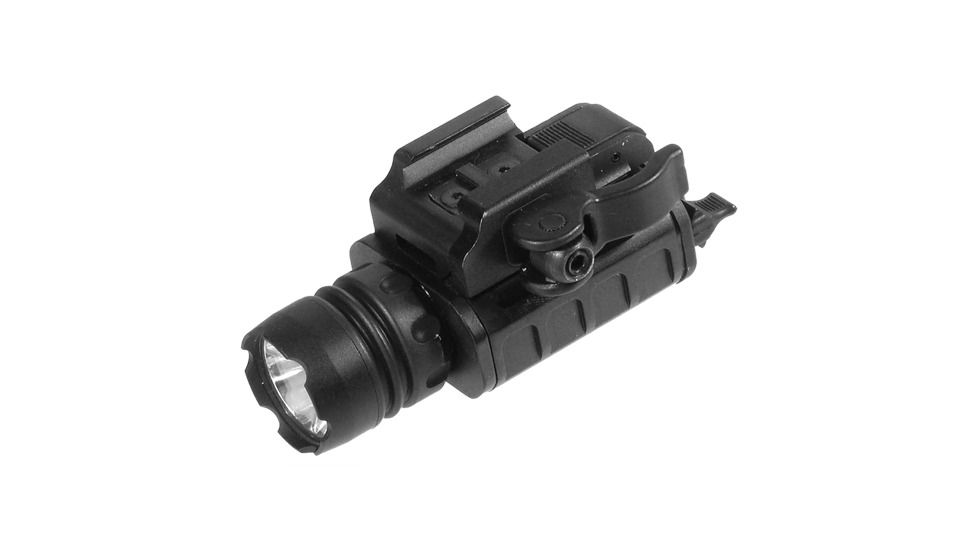Leapers UTG Pistol Flash Light w/23mm LED IRB & Lever Lock Integral QD Mount