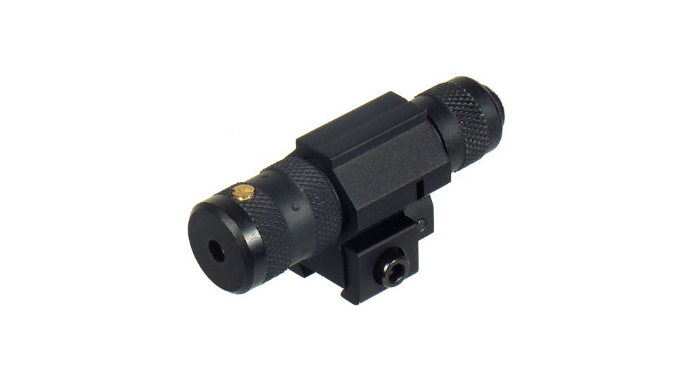 Leapers UTG Combat Tactical W/E Adjustable Red Laser Sight w/ Airgun/.22 Tactical Ring - DEMO
