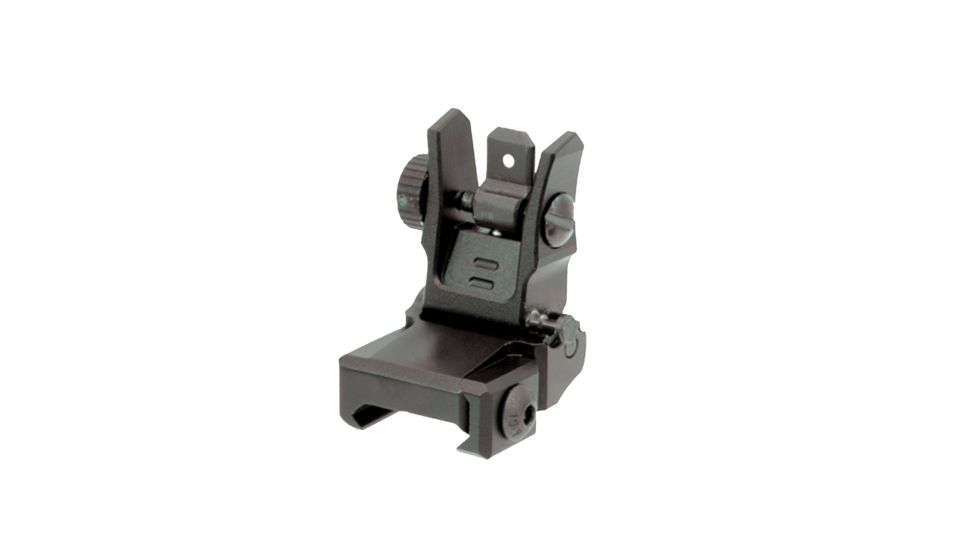 Leapers UTG Low Profile Flip-Up Rear Sight with Dual Aiming Aperture