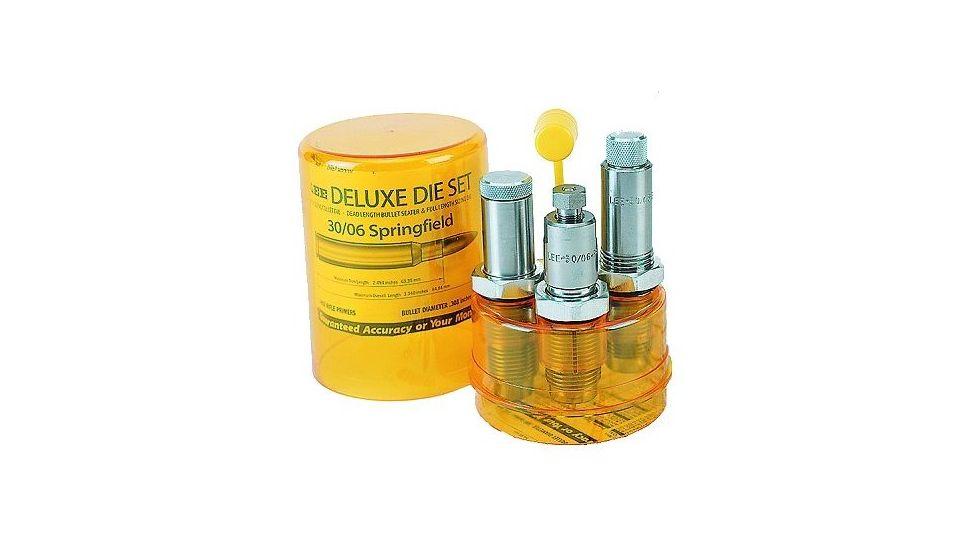 Lee Deluxe Rifle 3 Die Set w/ Shellholder For 308 Winchester 90614