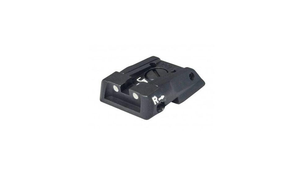 LPA Adjustable White Dot Sight - MPS2 (Baby-eagle, H&K Jericho, Striker)