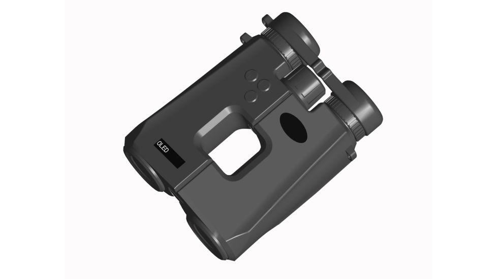 Luna Optics 10x42mm Roof Prism Binocular w/ 2200 yds Laser Rangefinder