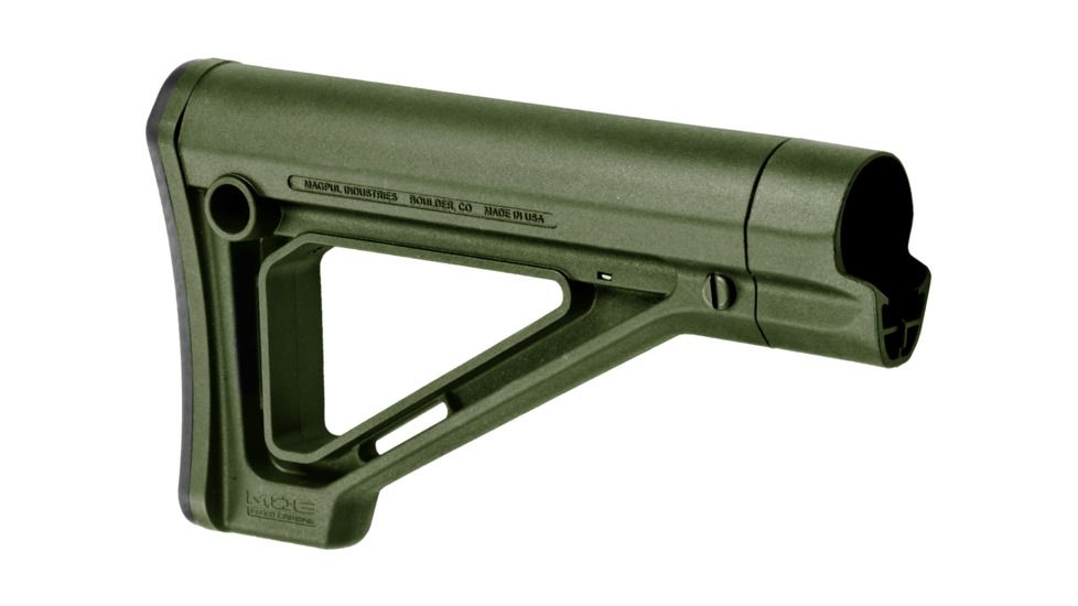 Magpul Industries MOE Fixed Carbine Stock - Commercial-Spec