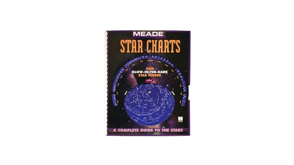 Meade Star Chart Guide / Planisphere Map Atlas 09103-1