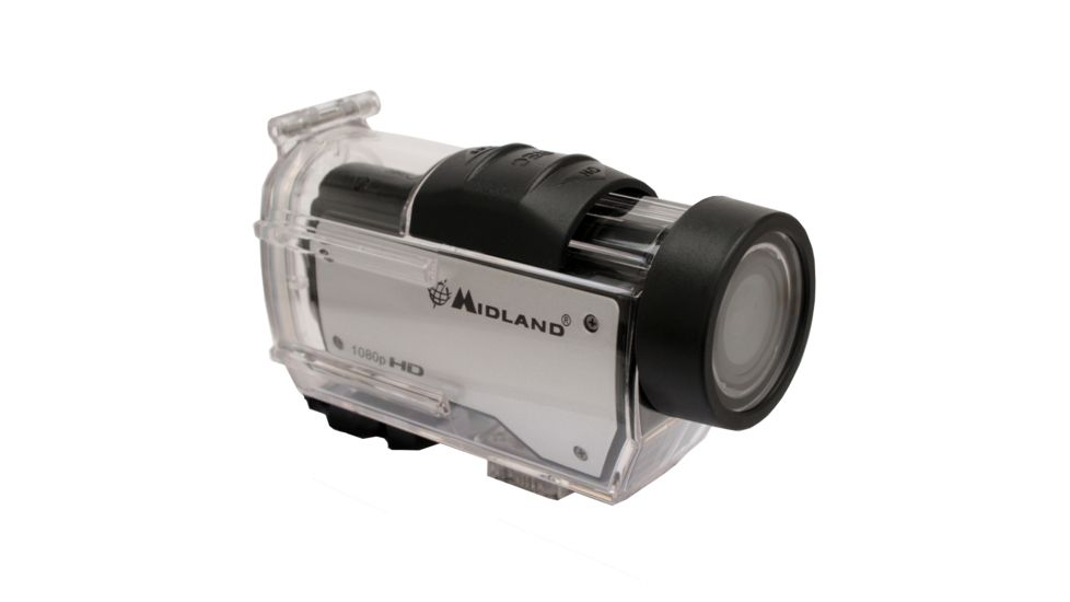 Midland Radio 1080p HD Action Cam w/ Submersible Case