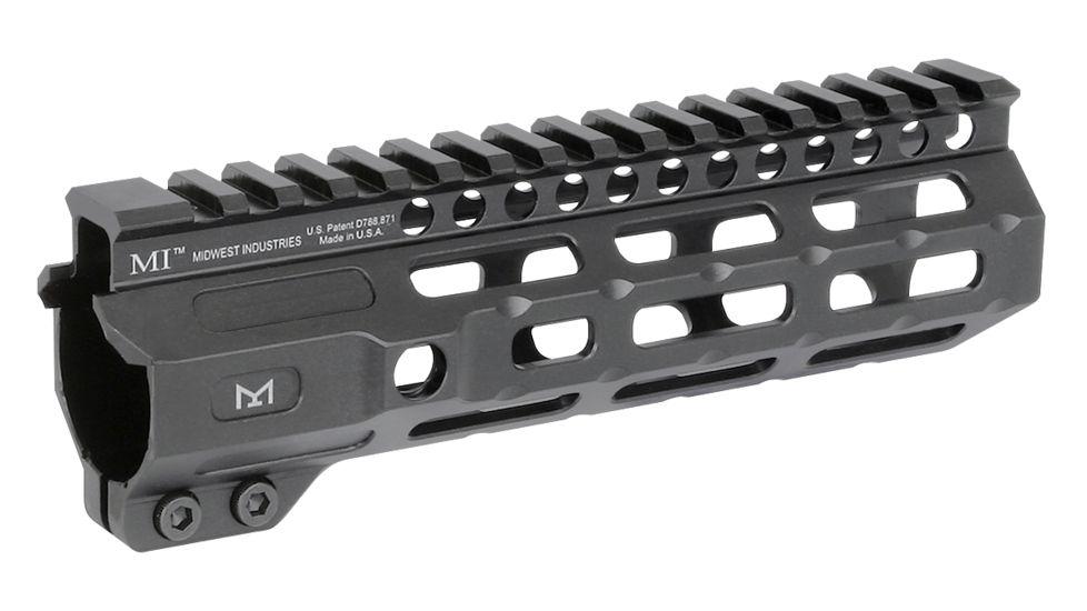 Midwest Industries AR-15 Free Float 1-Piece Combat Rail Handguard