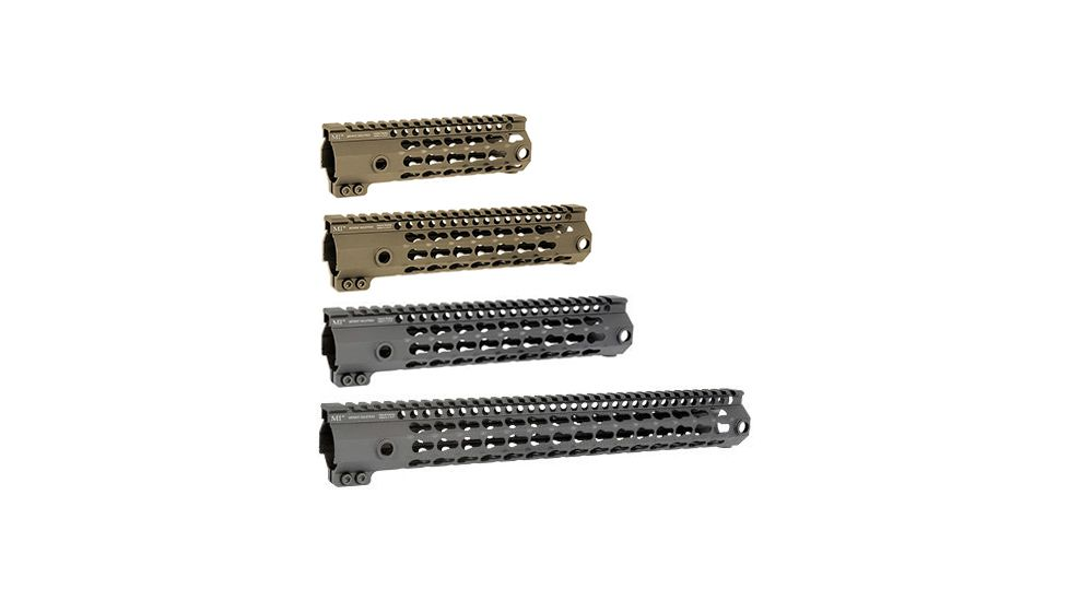 Midwest Industries G3 K-Series One Piece Free Float Handguard, KeyMod