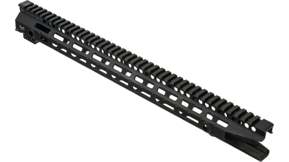Midwest Industries One Piece Free Floating AR Rifles Extended 17.5 Inch Rail, M-LOK Compatible