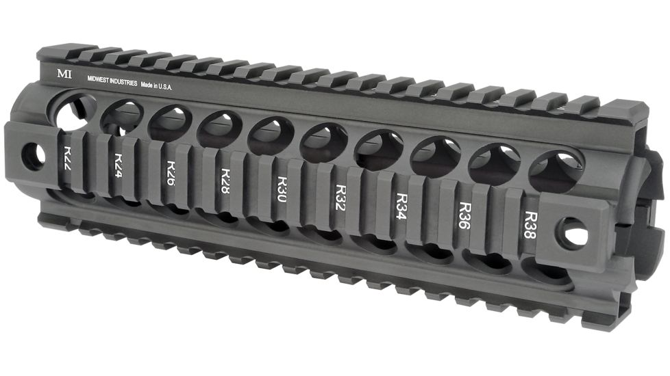 Midwest Industries Quad-rail Drop In For AR-10 Armalite Carbine Length