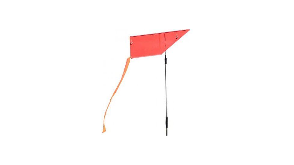 Mtm Wind Reader Shooting Range Flag Orange W/flag And Stake