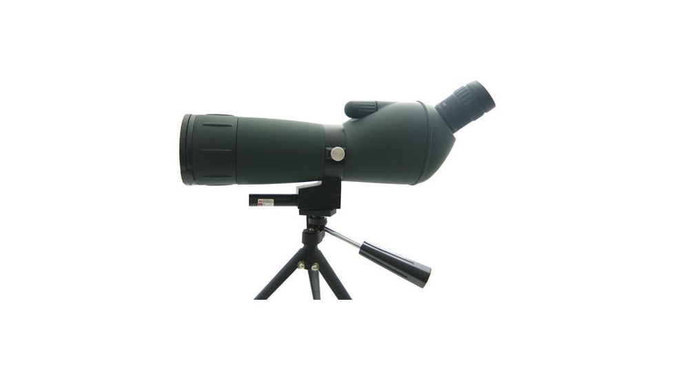 NCStar 20-60x60 Spotting Scope Green Lens With Tripod / Laser NG206060G