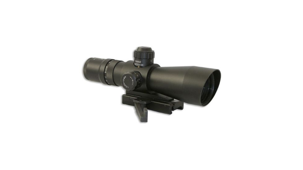 NC Star Mark III Tactical Series 3942G 3-9X42 Compact Riflescopes w/ Fully Multi Coated Lenses for Weaver/Picatinny