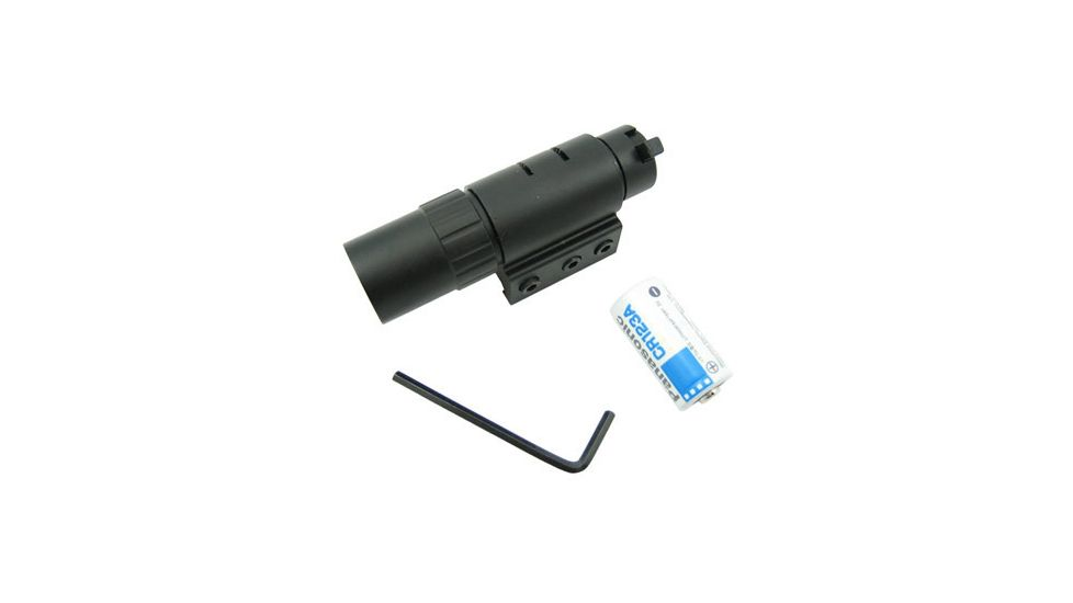 NcSTAR Gun Accessory - Pistol & Rifle Flash Light With Weaver Base APTF