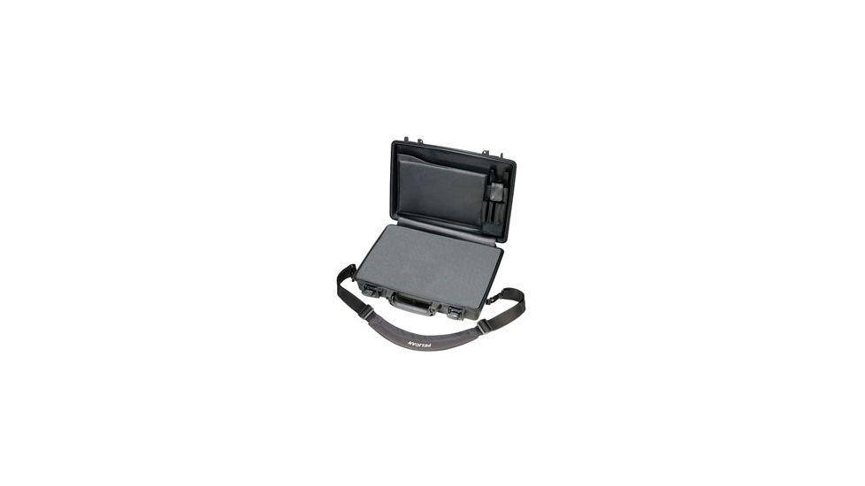 Pelican 1490CC Laptop Computer Waterproof OD Green Carry Case w/ Lid Organizer