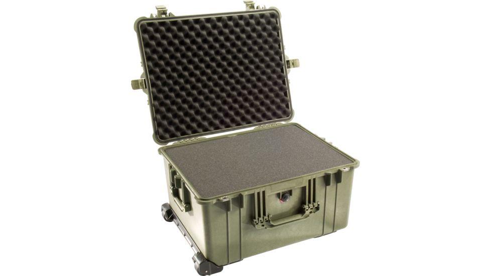 Pelican 1620 Protector Watertight Hard Roller Cases w/ Wheels