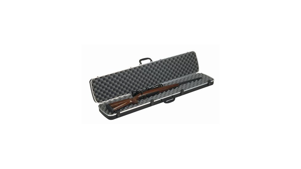 Plano Molding Deluxe Single Rifle Case Black 48.25x10 Inch 10101D