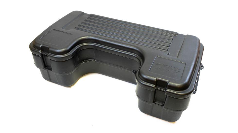 Plano Molding Rear Mount ATV Box w/ hinged cover - Black