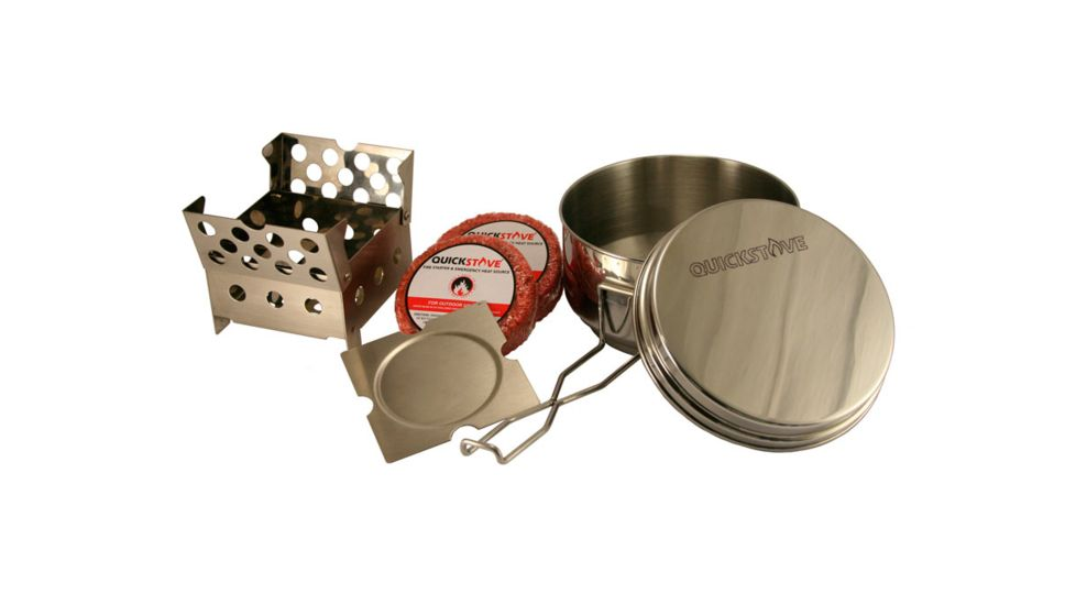 QuickStove Emergency and Camp Cook Stove Kit