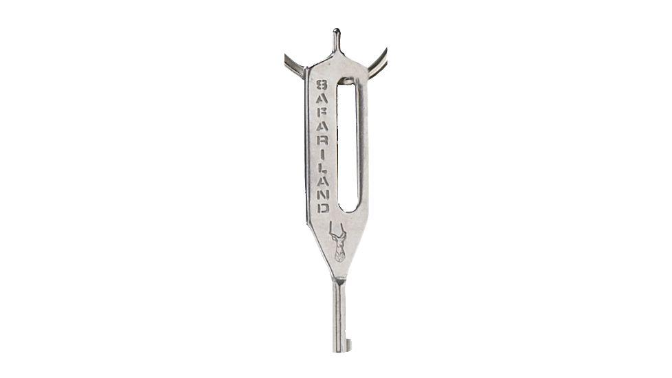Safariland HK-10 Handcuff Key, Stainless Steel