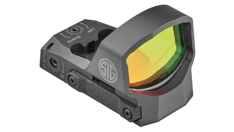 Sig Sauer Romeo3XL 1x35mm Red Dot Sight, 3 MOA Dot Reticle, Aircraft Grade Aluminum, Black, SOR31004
