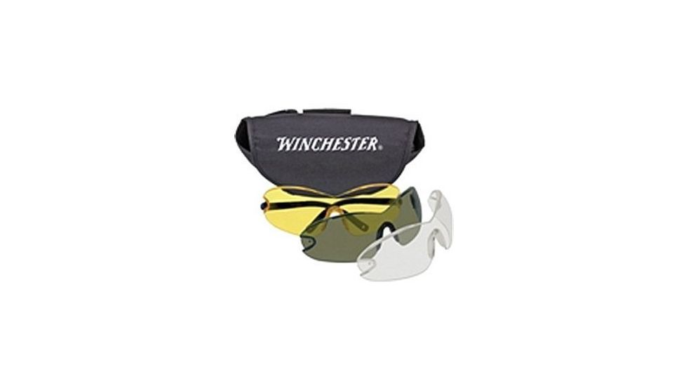 Silencio Winchester Glasses w/Smoke/Yellow/Clear Lens 3014954