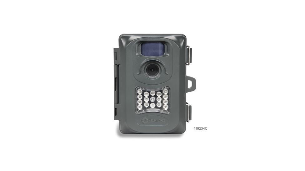 Simmons 4MP Whitetail Cam Grey w/Night Vision Trail Camera