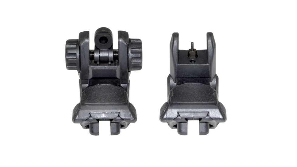 Sniper AR Tactical Smart Flip-Up Backup Sight Set