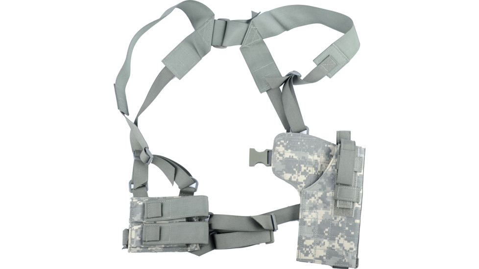 Specter Gear Vertical Shoulder Holster w/ Double Pistol Mag Pouch, M9 / Beretta 92F
