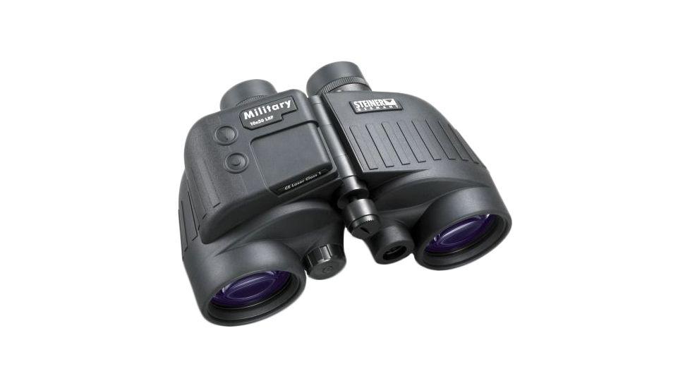 Steiner 10x50 M50 LRF Military Binoculars w/ Laser Rangefinder & Tripod Mount