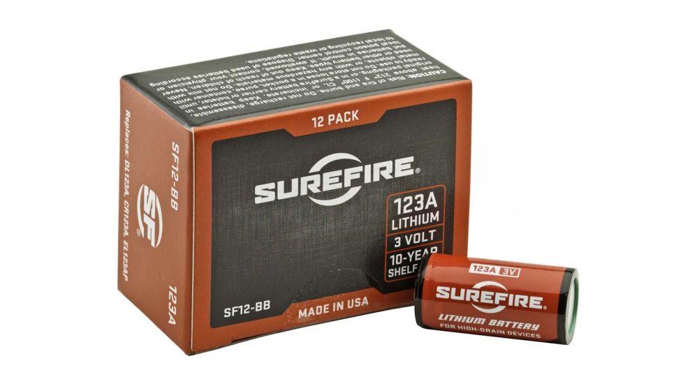 SureFire 123A Lithium Batteries - 38,400 Bulk Pack