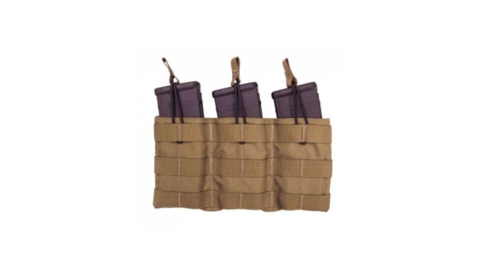 Tac Shield Triple Speed Load Rifle Molle Pouch