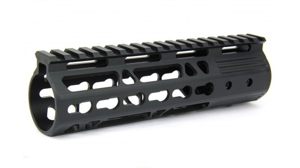 Tacfire AR15 Ultra Slim KeyMod Free Float Hand Guard w/Detachable Rails