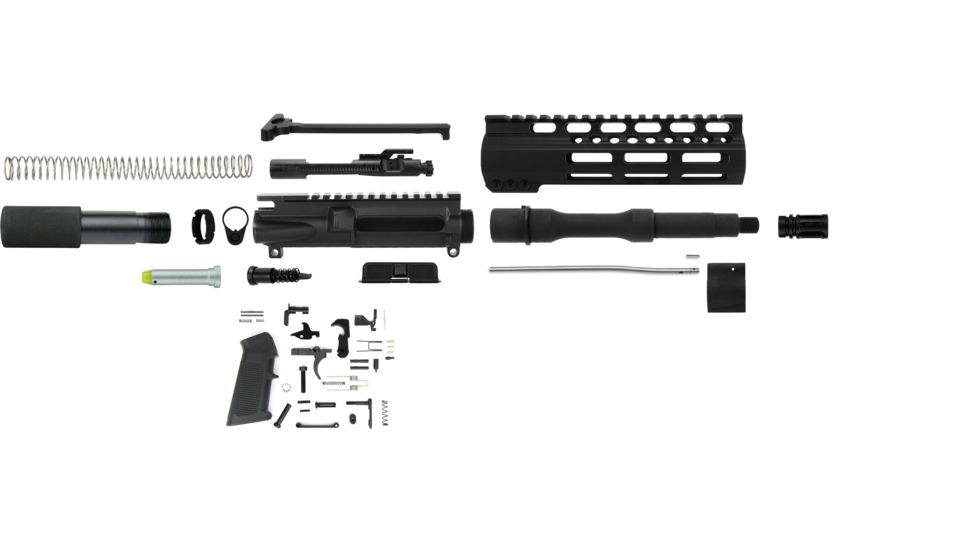TacFire AR-15 5.56 Complete Upper Receiver w/ Pistol Lower Parts Kit