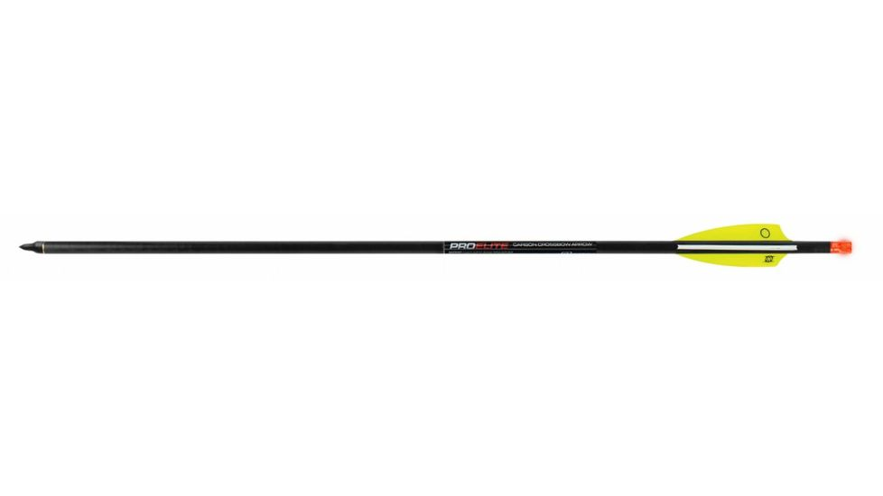 TenPoint Crossbow Technologies Omni-Brite 2.0 Lighted 20 in Pro Elite Carbon Arrows