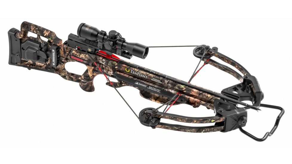 TenPoint Crossbow Technologies Turbo GT Crossbow Package w/ 3x Pro-View 2 Scope