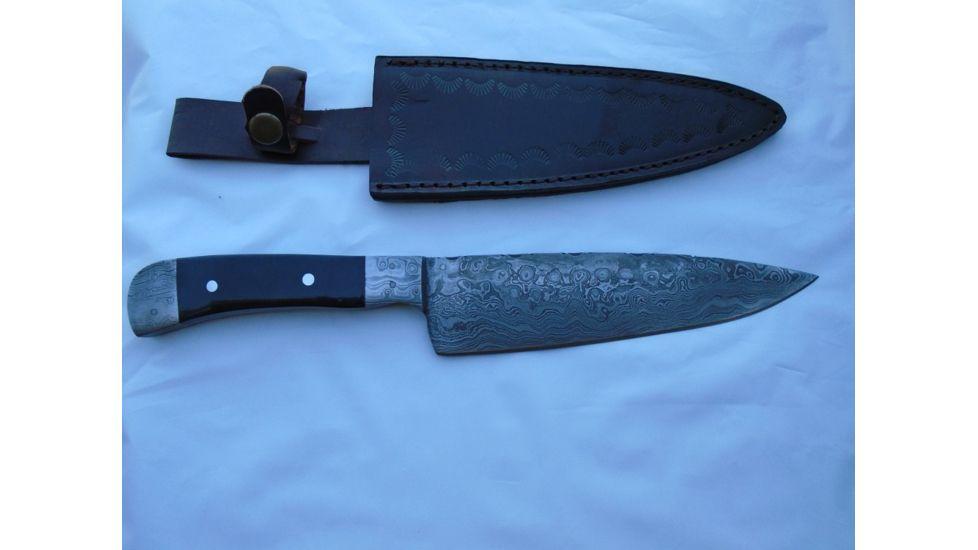 Titan Kitchen Knife Bolster Damascus Handle Knife TDK-57