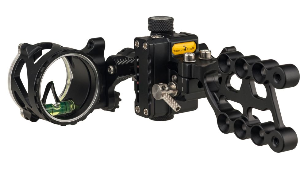 Trophy Ridge React Alpha 1-Pin Bow Sight - best single pin bow sight