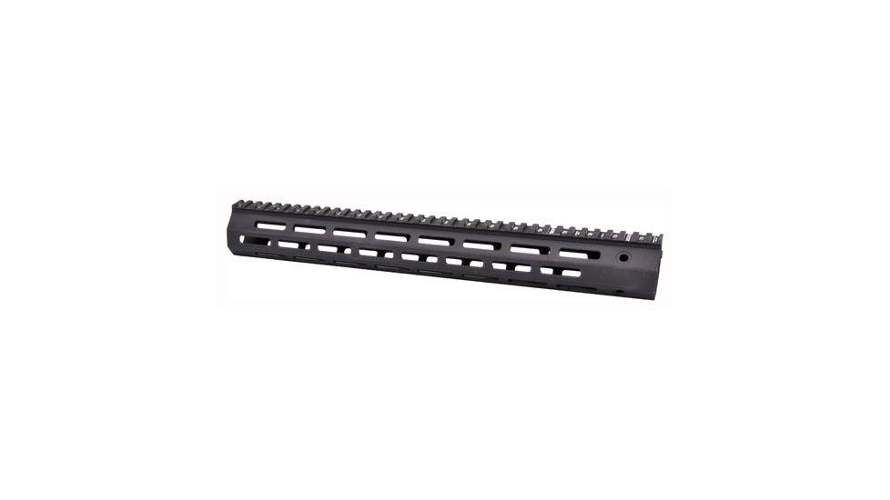 Troy Industries SRAIML115BT0 Battle Rail AR-15 Aluminum Black