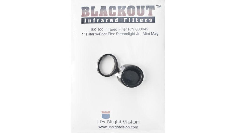US Night Vision Blackout IR Infrared Flashlight Filters