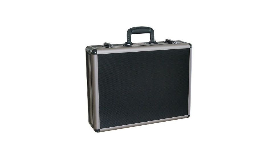 Vanguard Black Aluminum Four Pistol Case WSG7703