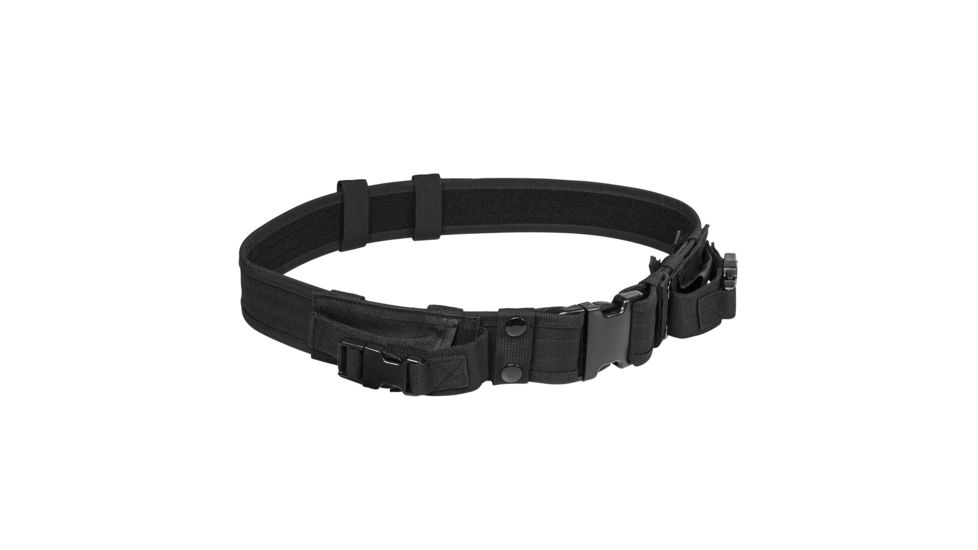 Vism Tactical Shooting / Gun Belt w/ Two Pouches
