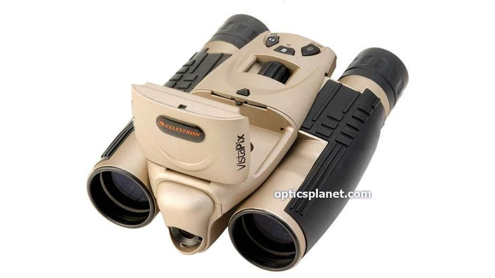 Celestron VistaPix 8x32 3.0 MegaPixel Digital Camera Binoculars w/ LCD Screen SD Slot - 72212