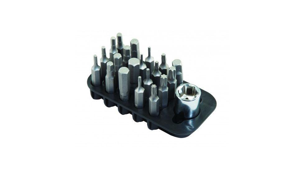 Wheeler Fine Gunsmith Equipment 21 Piece Add On Screwdriver Bit Set
