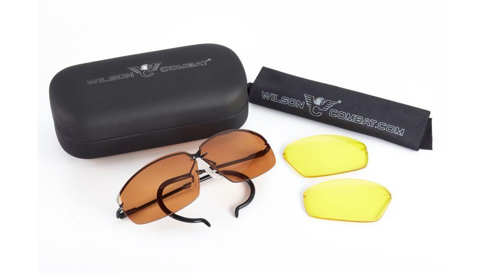 Wilson Combat Decot Revel Shooting Glasses with Case
