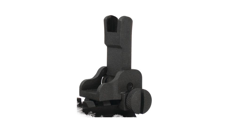 Yankee Hill Machine Gas Block Mounted Flip Sight Matte Black YHM-9584
