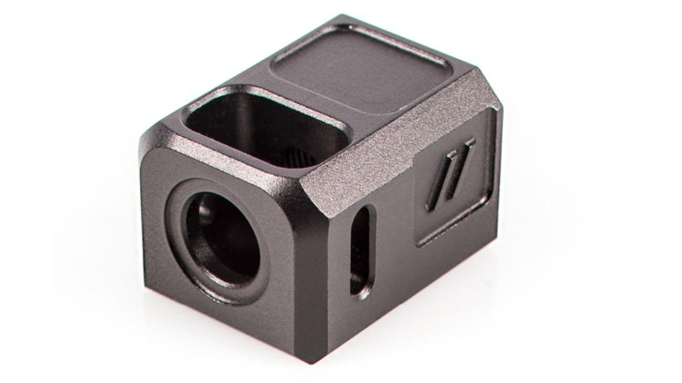 ZEV COMPPROB Pro Compensator Compatible With Glock 19 1/2x28 Tpi 7075 T6 Aluminu