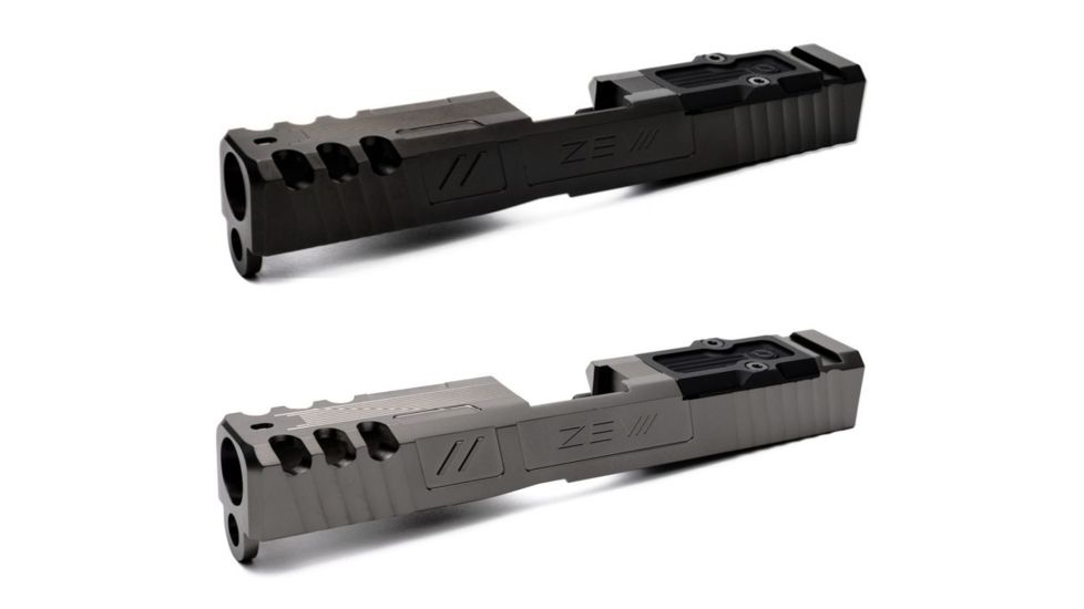 ZEV Technologies Z19 Spartan Black 3rd Gen Stripped Slide with RMR Cover Plate