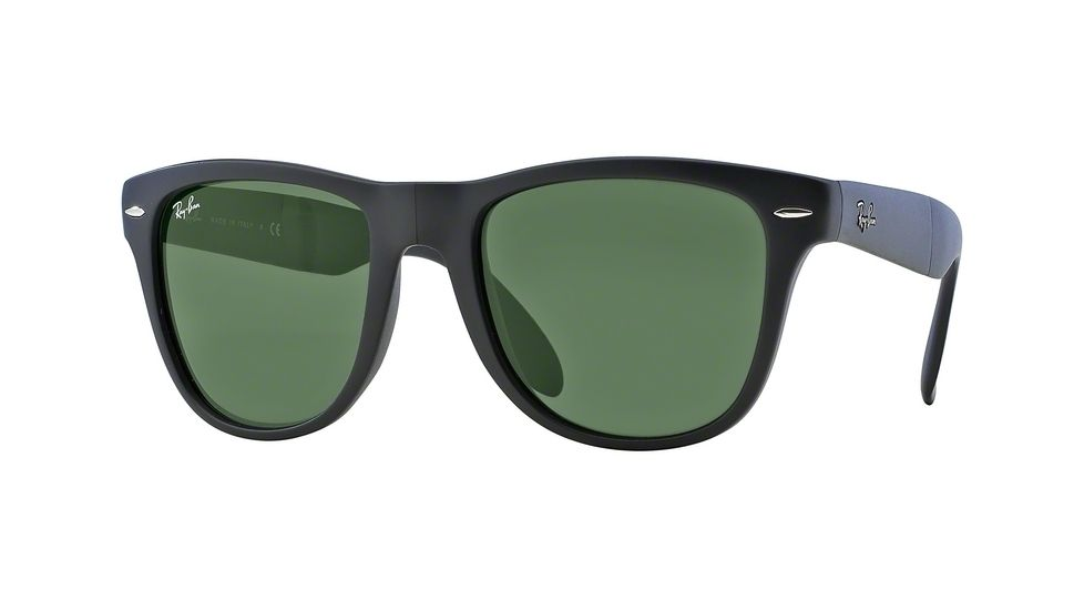 polarized ray ban wayfarer z1x0  ray ban rb4105 folding wayfarer polarized 601s55