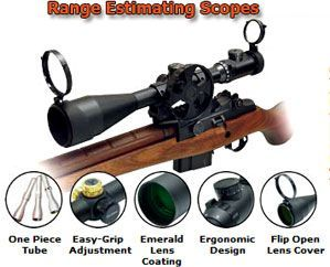 Leapers Range Estimating Scopes